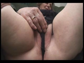desperate old inside nylons shows off fat