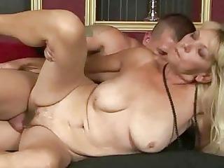 horny granny getting gang-banged sweet hard