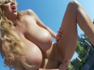 milf with enormous breast obtaining off by the