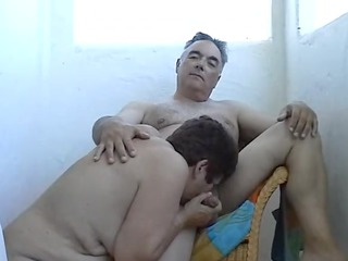 my maiden is sucking my cock on holidays