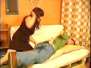 lady punishes her sons lover for ain doing