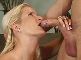 blond mature babes ball licking cock sucking act