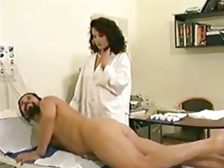 busty woman doctor treatment