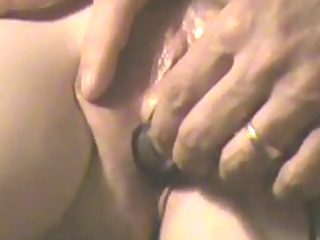 closeup amateur aperture play, orgasm, drill and