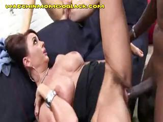 black dick on milf and daughter