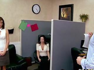 big breast brunette woman lingerie gstring bureau