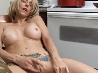 sweet grown-up chick has a wet kitty