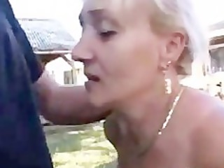 german older with awesome oral skills gets heavy