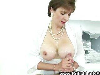 british pearl necklace elderly bitch