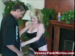 granny amp likes them inexperienced