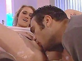 lady bonbon gets her gap licked by her neighbor