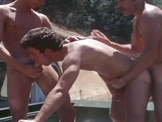 vintage mature boys piercing public