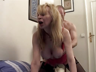 mature marie-therese is drilled inside all holes