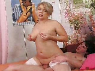 old seduces her amateur friend 46