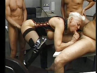 ass punishment for a french mature