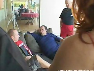 hubby watched girl fucked by 2 uneasy cocks