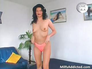 huge glass vibrator for horny nude lady part4