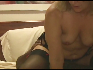 hot housewife acquires on a roomful for hubby