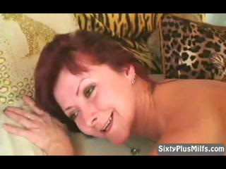 firm granny fucked from behind