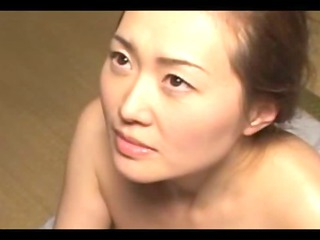 japanes cougar chick gang-banging uneasy on the