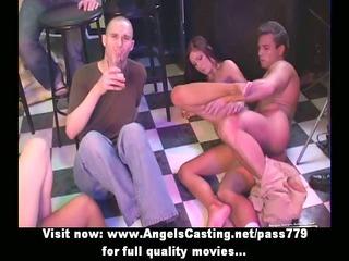 superb fresh delightful girls having an group