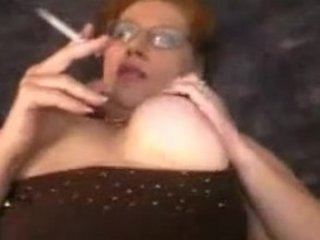 fat lady smoking porn
