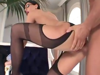 eva black sexy older lady anal