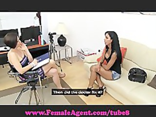 femaleagent. boobs to die for