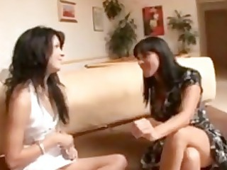 mother teaches daughter how to be a bitch