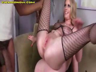 husband taking cuckolded and wife lays on top of