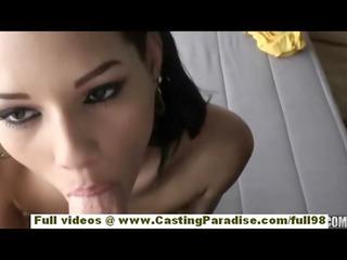 cassie cruz independent latino brunette girl