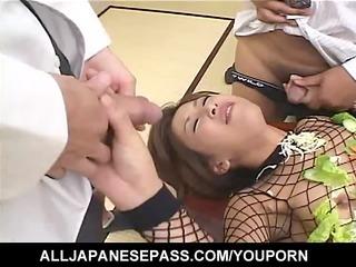 japanese av baroness turned inside an edible
