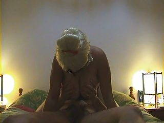 masked woman lick and fuck