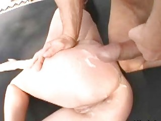 big boobed milf chick into mini cloth fucked