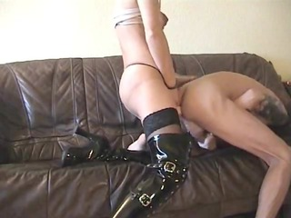 perverted pair- lady thong-on bonks hubby