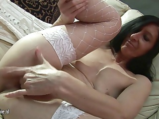 ugly grandma likes to tease lonely