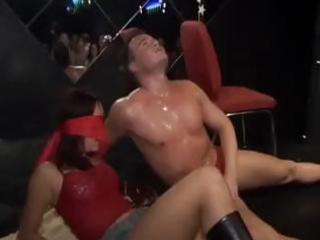 your slut porn partners licking strippers cocks