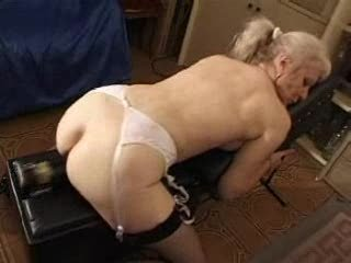 french clean blond granny pt12