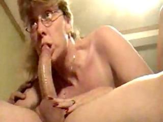 super older woman licking dick