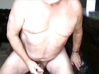 grandpa blows a load