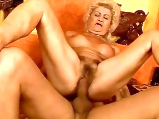 naughty slutty elderly takes her cave pierced