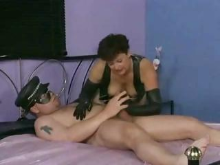heavy cougar whore from germany takes dick into