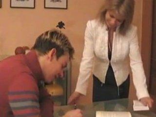 super german mom teaches male