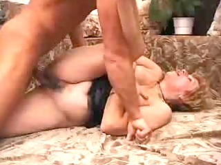 elderly satisfies a boy,creampie