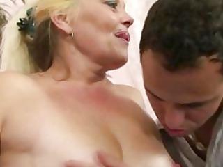 albino granny gets her vagina slammed