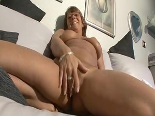 large breast elderly solo