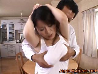 miki sato natural asian mum has group sex part5