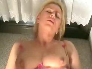 german blond anal cumshots