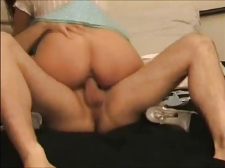 desperate brunette wife drilled and swallow