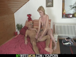 he takes fucked by mother into law